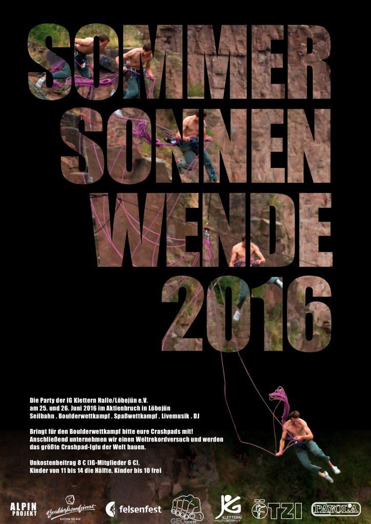 Plakat Sommersonnenwende 2016